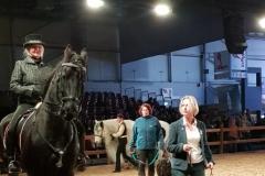 Hund und Pferd 2018 in Dortmund, Präsentation.